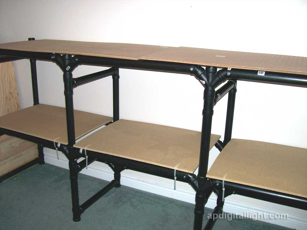 PVC Pipe Shelves - Bing images