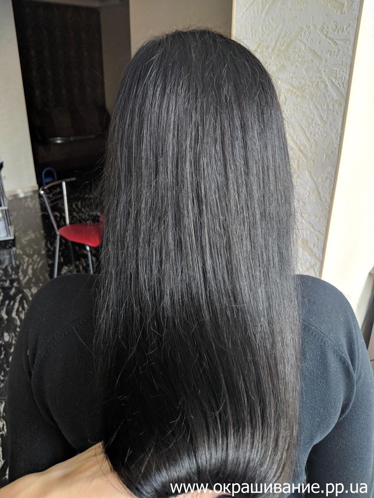 Цвет волос: холодный шатен