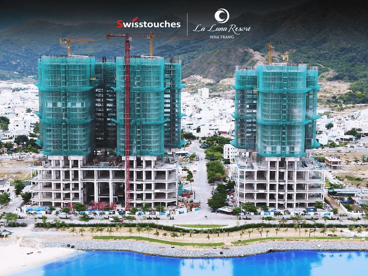 Hình ảnh mới nhất của dự án La Luna Resort
