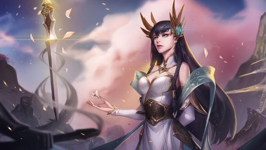 Irelia, Divine Sword, LoL, 4K, #7.1803