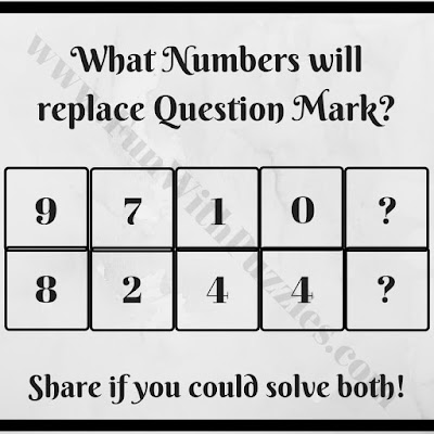 Tricky math mind game brain teaser