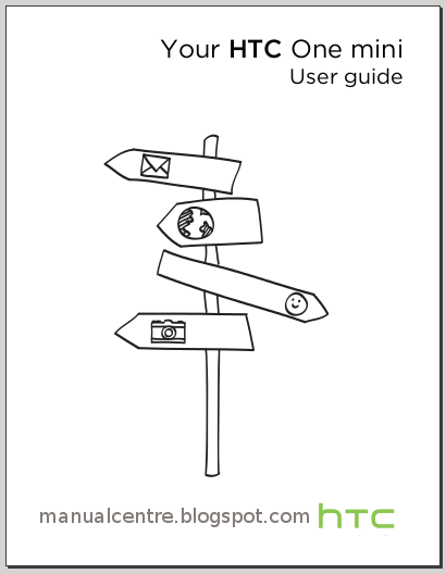 HTC One mini Manual Cover