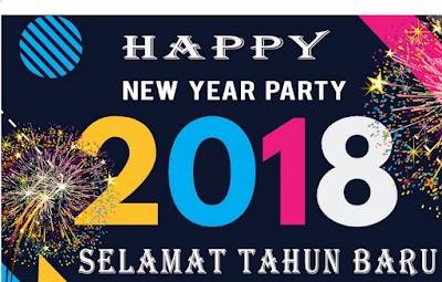 TERIMAKASIH 2017 SELAMAT DATANG 2018