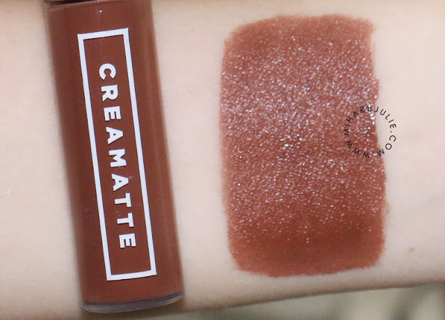 Emina Creamatte Lip Cream swatch & review