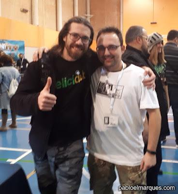 Con Alberto AVAHN ART STUDIO