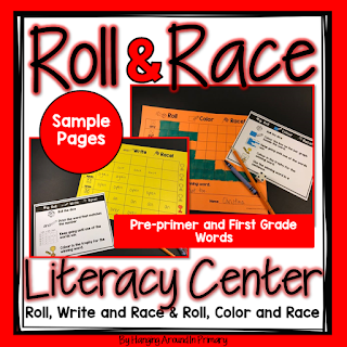 PrePrimer and First Grade Literacy Center Sample