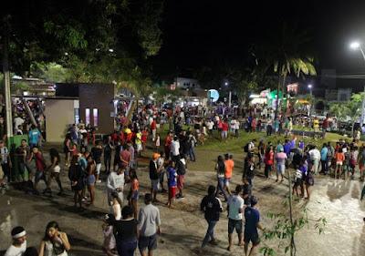 Grande público prestigia inauguração da Nova Praça Rui Barbosa em Alagoinhas
