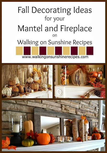 Decorating Fall Decorating Ideas For Your Mantel