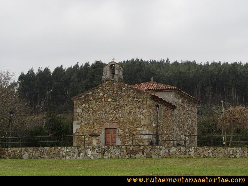 Ruta de los Dólmenes y Monte Areo: Santuario de Nuestra Señora de los Remedios