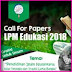 Pengumuman Lolos Abstrak Call For Papers LPM Edukasi 2018