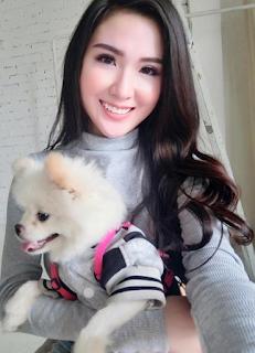 Gái xinh facebook Ngọc Loan the face
