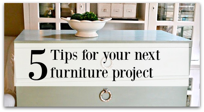 tips for furniture painters