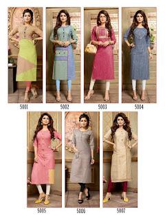 Manas Anaya Cotton kurtis wholesaler