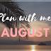 Как я веду ежедневник : август