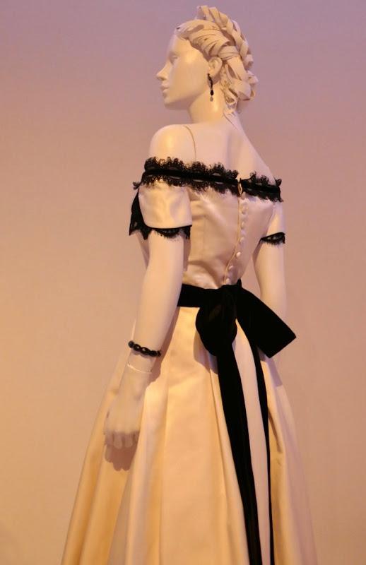 Kirsten Dunst Beguiled Edwina dress back