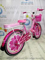 Sepeda Anak Family Lilies 16 Inci