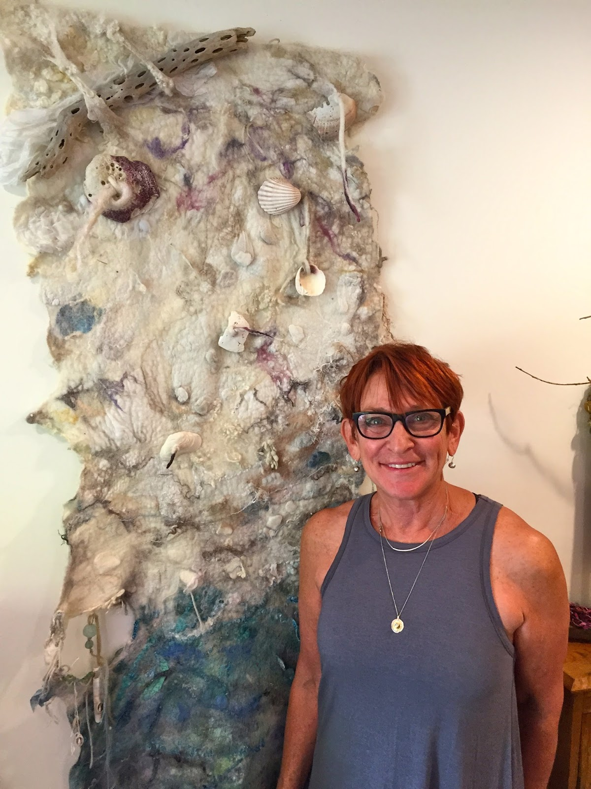 Studio 907 How To Mount A Felted Wall Hanging