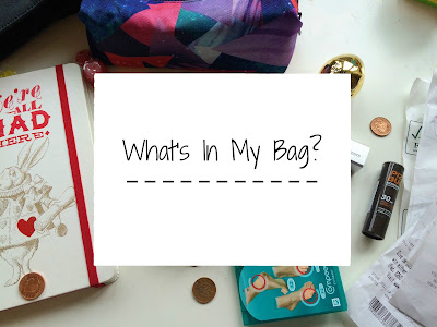 Freckles And Thoughts: What's In My Bag?