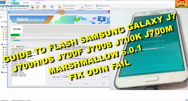 Guide To Flash Samsung Galaxy J7 Stock Rom Marshmallow 6.0.1 Odin Method