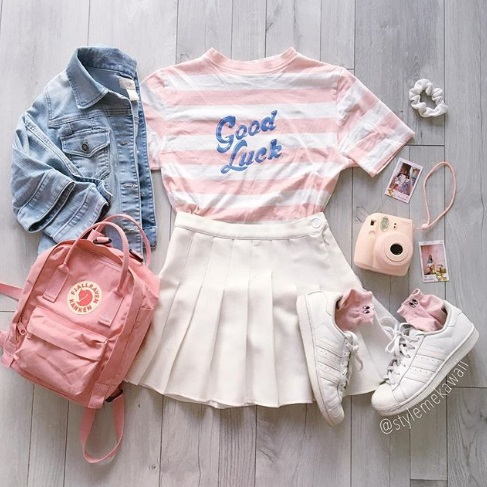 cute summer outfits, kawaii fashion