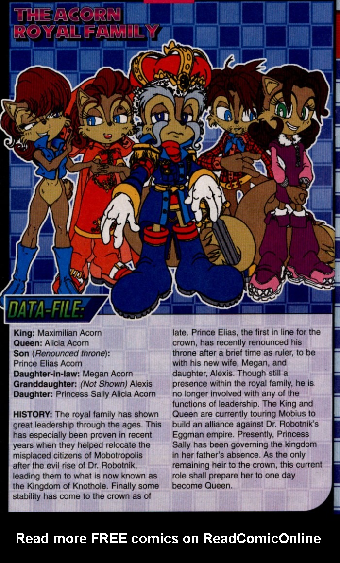 Read online Sonic The Hedgehog comic -  Issue #144 - 23