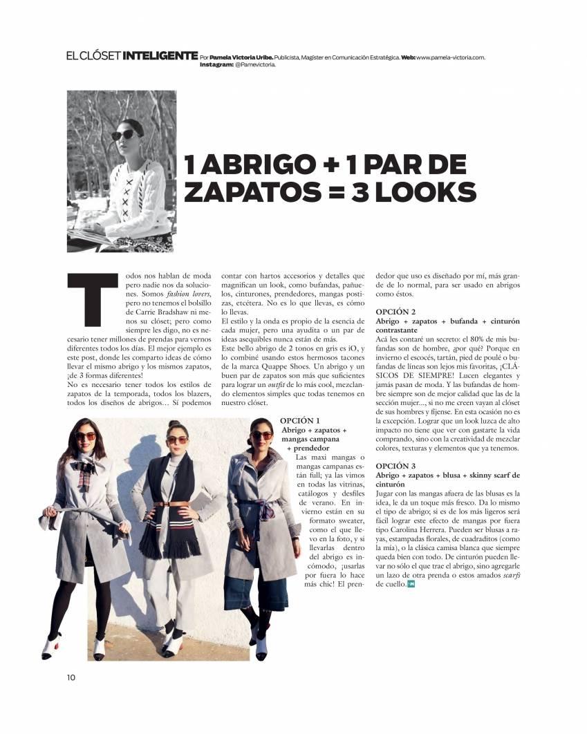 Pamela Victoria - columnista de moda - revista nueva mujer - publimetro - coolhunter
