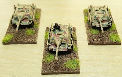 1943 onwards,  3 x Jagdpanzer IV