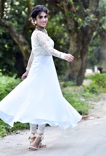 Anika Kabir Shokh In White Dress