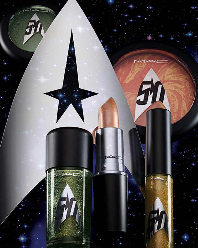 M.A.C x Star Trek Makeup Collection