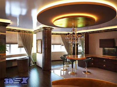 art deco style, art deco interior design, art deco home decor with false ceiling design