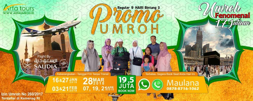 Promo Umroh Murah Arfa 2018