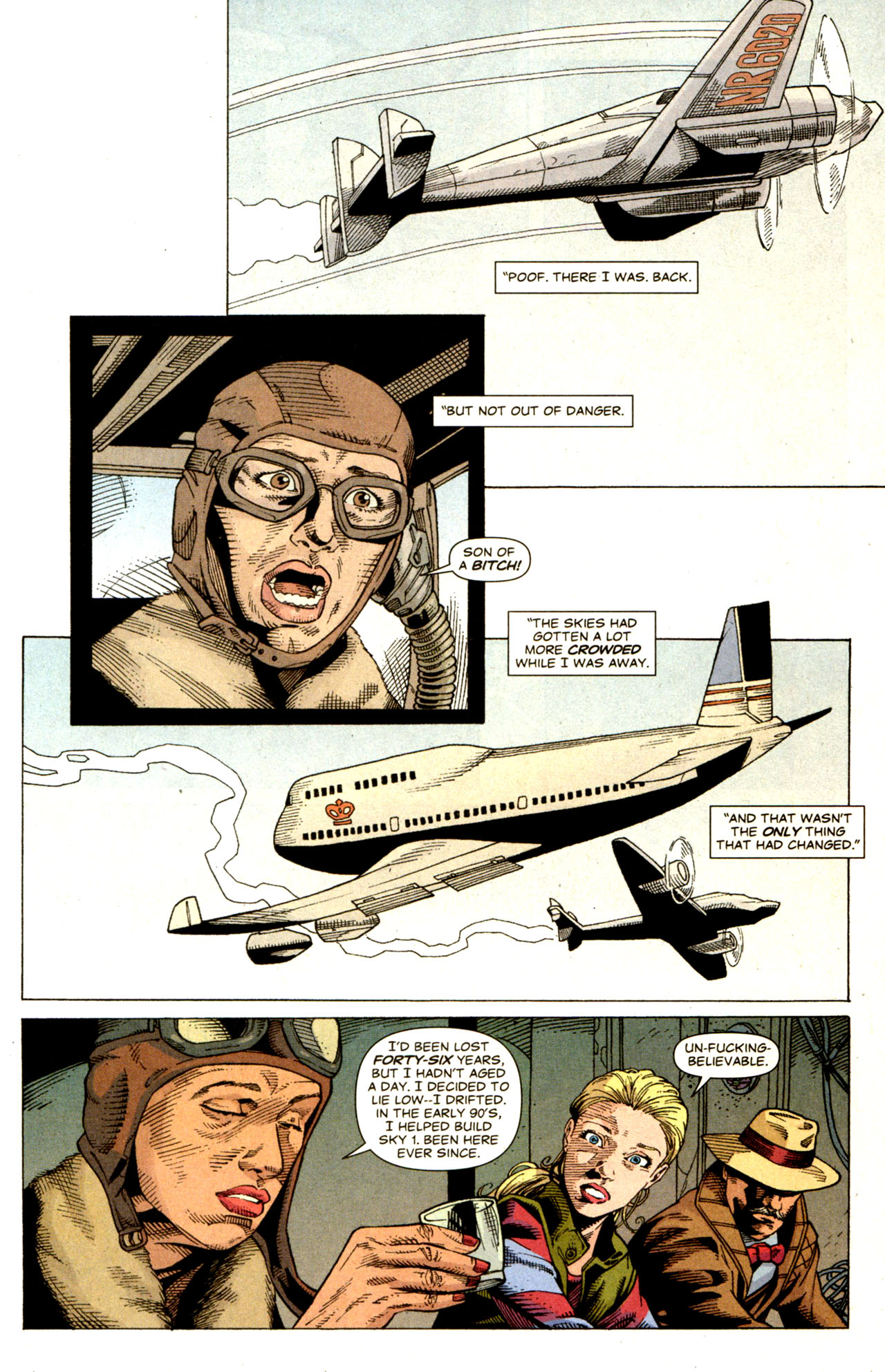 Read online Air comic -  Issue #6 - 10