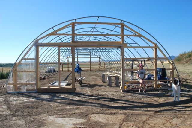 Bear Butte Gardens Blog How We Built Our High Tunnel