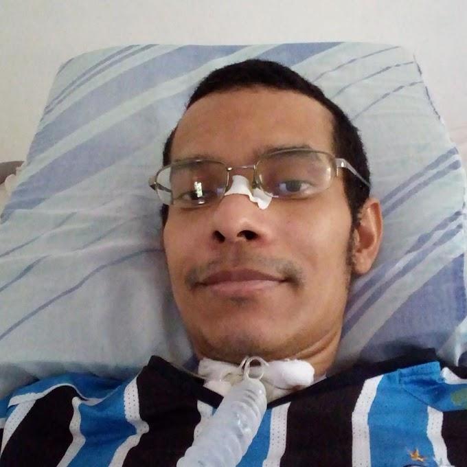 Josemim Ferreira precisa de uma bateria que custa 4,000,00 reais para continuar respirando