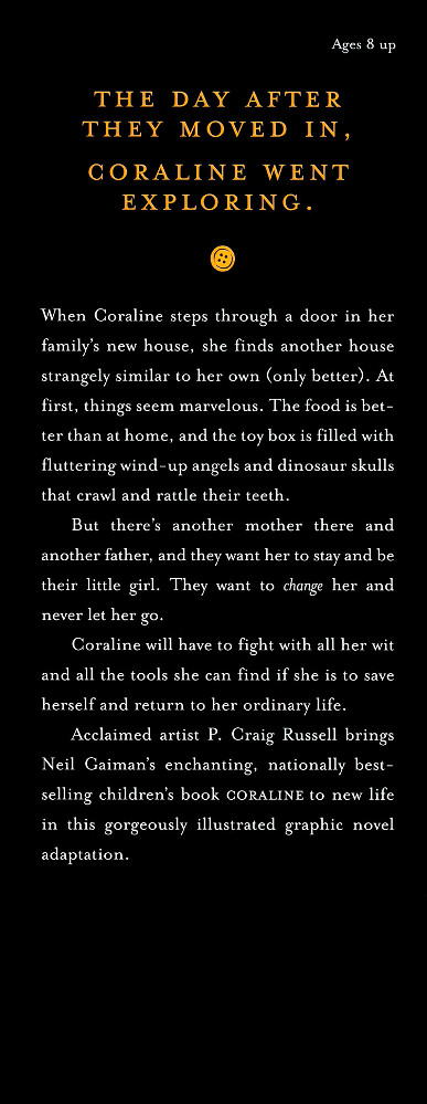Read page 187, from Nail Gaiman and P. Craig Russell's Coraline graphic novel