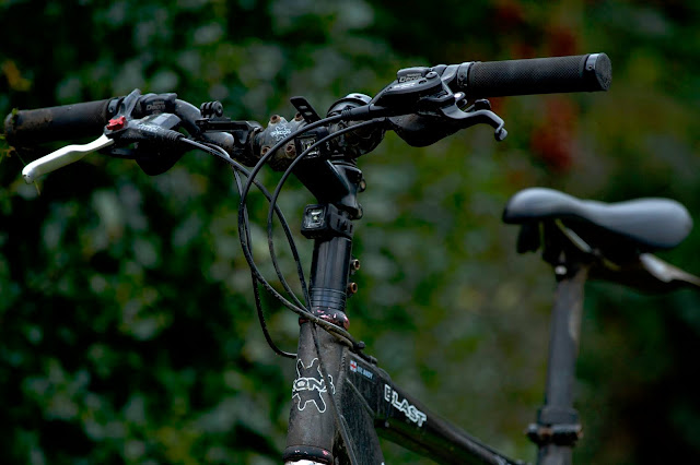 close up of the bike with 300mm lens