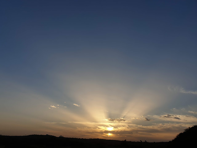 sunrise after eclipse