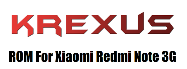 [6.0.1] Krexus ROM For Xiaomi Redmi Note 3G [MT6592]