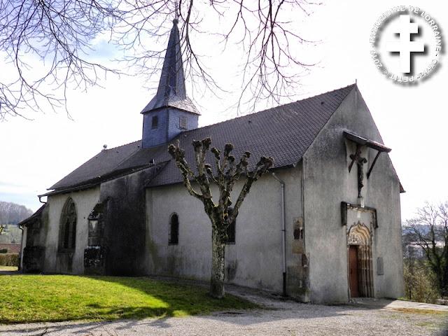 MIRECOURT (88) - Chapelle de la Oultre (XIVe-XVIe siècles)