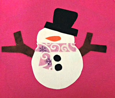 Make a Turkey and a Snowman applique - easy tutorial for the holidays.   The TipToe Fairy