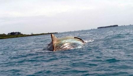 Hantam Kapal Nelayan Dibelawan, Empat Awak Berhasil Diselamatkan