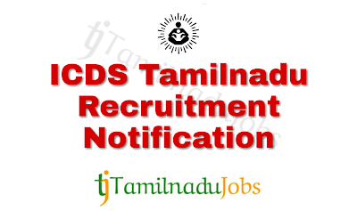 ICDS Recruitment notification of 2018