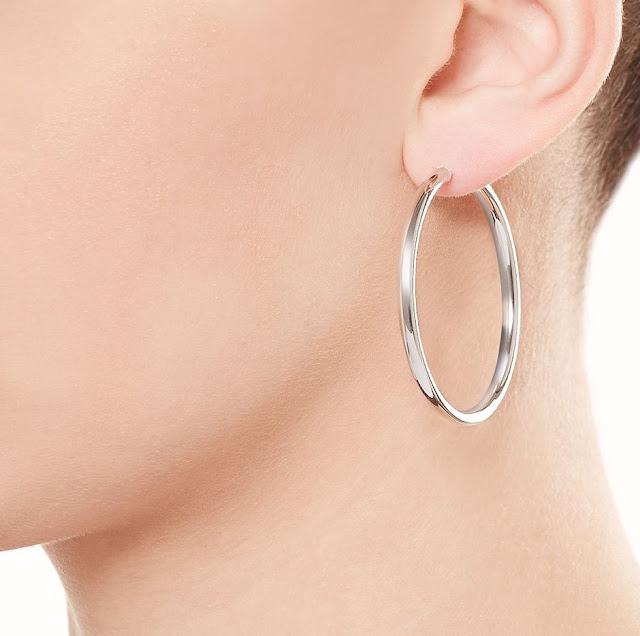 Wear Silver Hoop Earrings