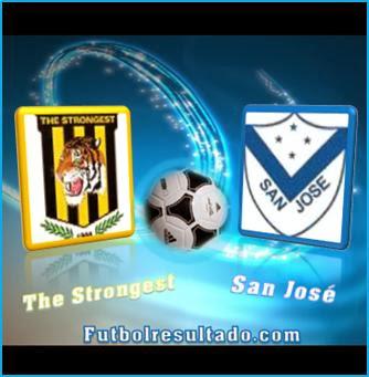 imagen Strongest y San José portada
