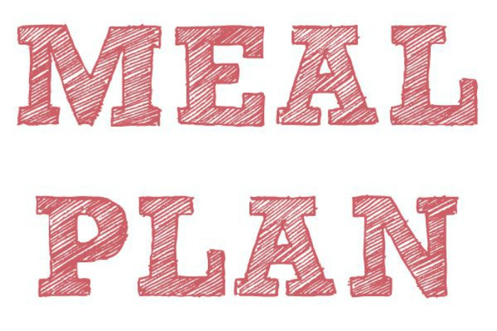 Meal Plan 7th - 13th November 2016