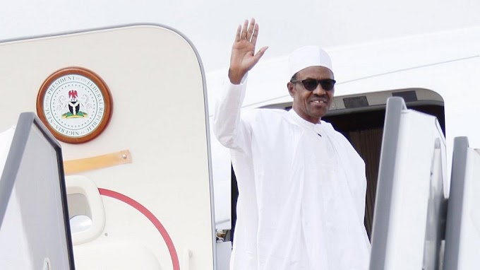 Nigeria's Buhari leaves for U.K. checkup at behest of his doctor