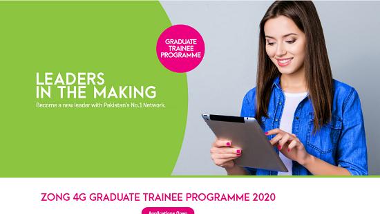 Zong Graduate Trainee Programme August 2020 Apply Online