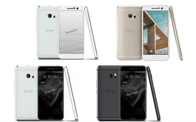 """ظهور صور مسربة لهاتف """"HTC 10"""" بألوان مختلفة"""