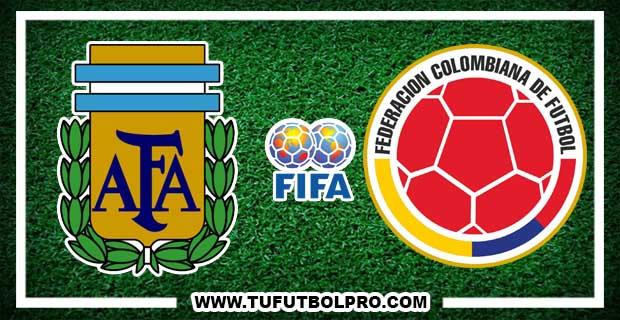 Ver Argentina vs Colombia EN VIVO Por Internet Hoy 15 de Noviembre 2016