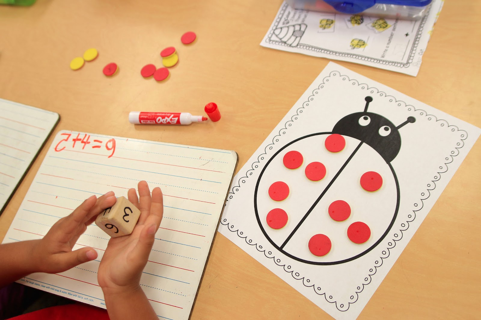Worksheets Hands On Addition Activities For Kindergarten mrs riccas kindergarten fun with addition freebies one fish two red blue fish